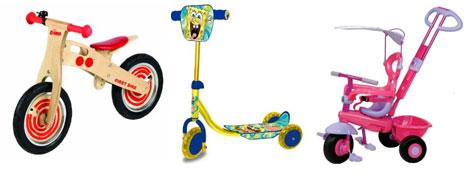 trikesBikesScooters