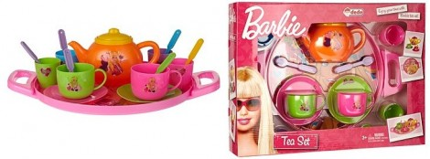 Barbie Tea Tray Set