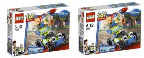 Lego Toy Story Buzz And Woody Rescue