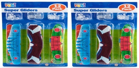 Poundland 12 Super Gliders