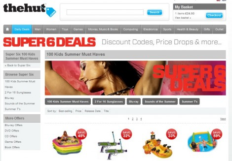 Expired The Hut Coupons & Coupon Codes