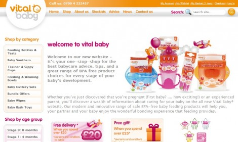 Vital Baby Online Promotional Code