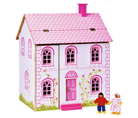 littleStepsWoodenDollsHouse