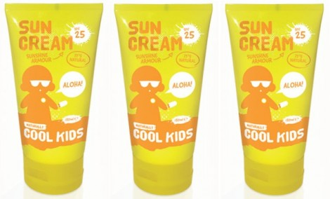 Naturally Cool Kids Sun Cream