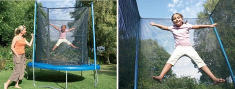 Tesco 8ft Enclosed Trampoline