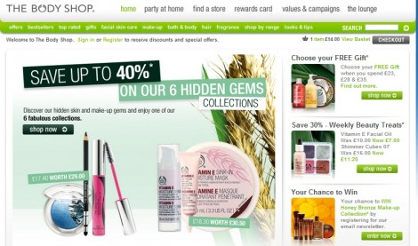 The Body Shop Coupon 25 percent
