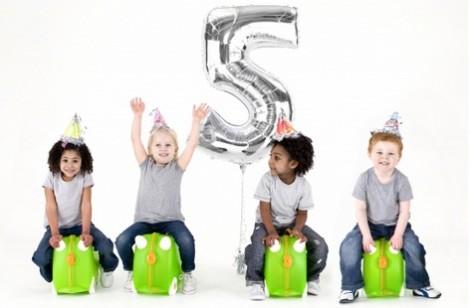 Trunki Quinn 5th Birthday Trunki