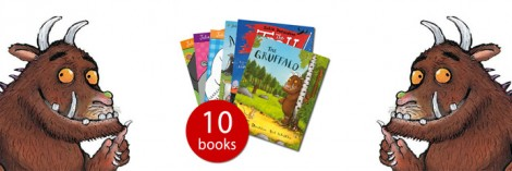 Julia Donaldson Book Collection £9.99 @ The Book People