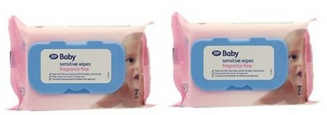 Boots Sensitive Wipes