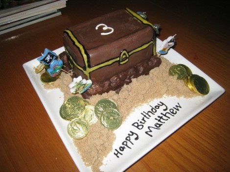 Matthews birthday cake