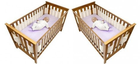 Safe Dreams Cot Wrap Four Sided
