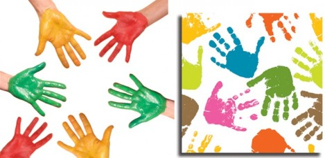 What to do with father's day hand prints