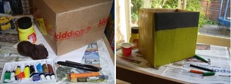 Workshop Wednesday Make A Cardboard Box Costume 1