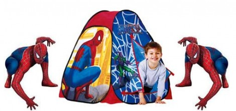 spiderManPlayTent