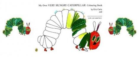 veryHungryCaterpillarColouringBook