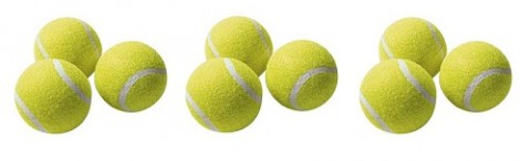 Chat valley 3 pack tennis balls