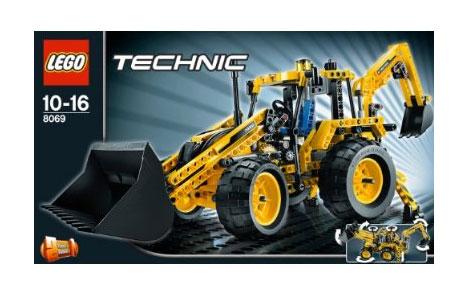 legoTechnic8069BackhoeLoader