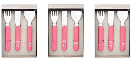 Kids cutlery Tesco