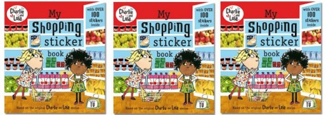 charlieAndLolaMyShoppingStickerBook