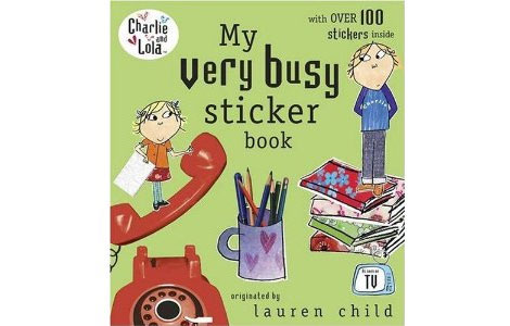 charlieAndLolaStickerBook