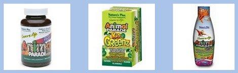 Animal Parade vitamins and supplements