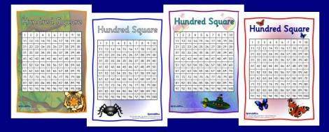 hundred square
