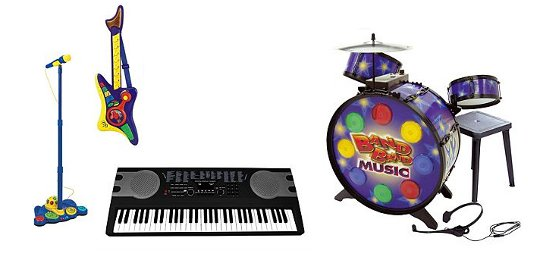 Musical Instrument Toys On Sale @ ASDA
