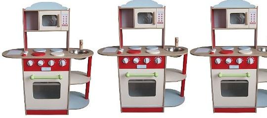 wooden play kitchen 40 asda. Black Bedroom Furniture Sets. Home Design Ideas