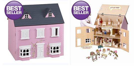 Traditional Wooden Dolls House 35 At Asda