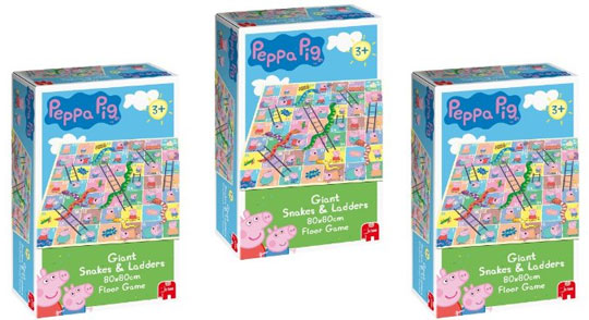 Peppa £6 Giant And Ladders Pig Snakes 49Amazon DIW2H9YE