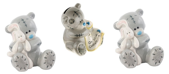 If you have a christening coming up and you're still looking for a gift then you might want to take a quick look at this Me To You Christening Money Box.