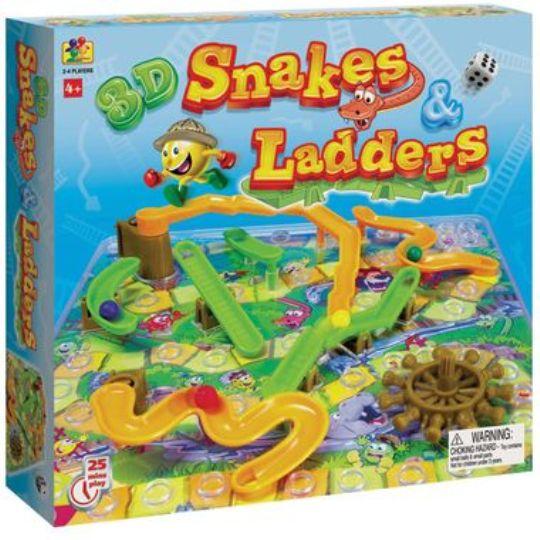 Spears 3D Snakes & Ladders £3.97 @ Tesco