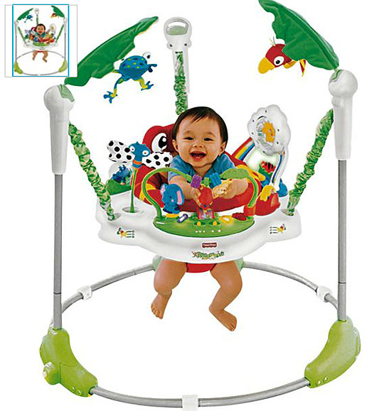 3a2c5b4c77d Fisher Price Rainforest Jumperoo Baby Bouncer £74.99 @ Argos