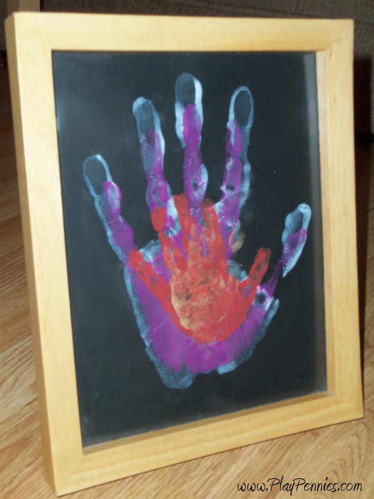 Workshop Wednesday: Father's Day Hand Prints