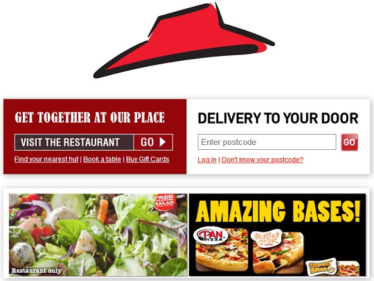 Pizza Hut Promotional Code: 50% Off £35
