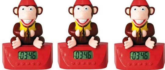Monkey With Banging Cymbals Alarm Clock 598 Argos Ebay Outlet