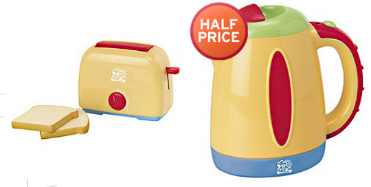 Just Like Home Toy Toaster : Pretend and play kettle toaster £