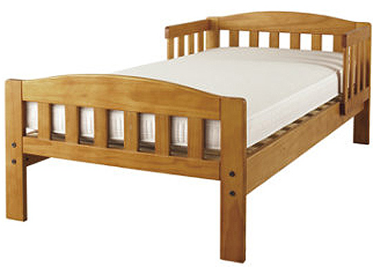 Wooden Toddler Bed GBP4899 Mothercare