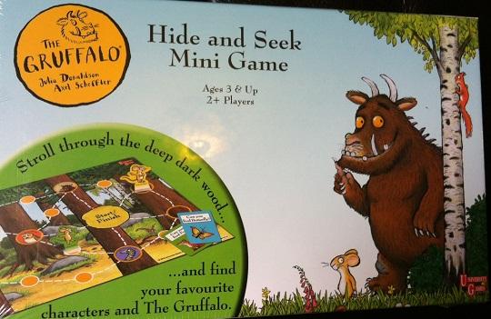 gruffalo deep dark wood game instructions