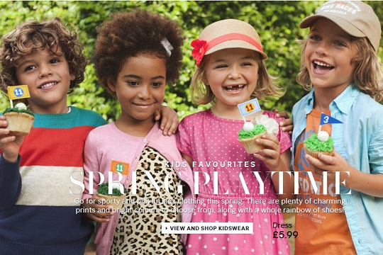 H&M Promotional Code: 10% Children's And Kids Home