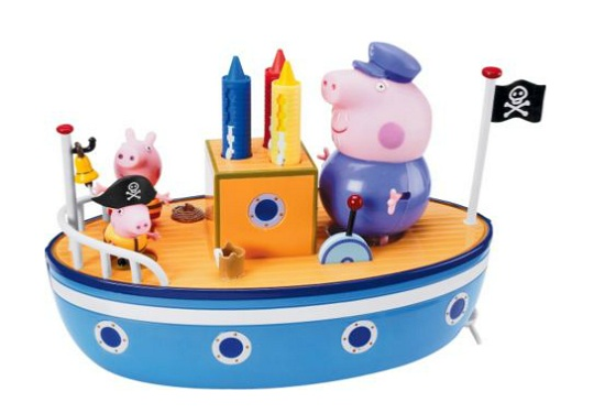Peppa Pig Grandpa Pig S Bath Time Boat For 163 19 99 Argos
