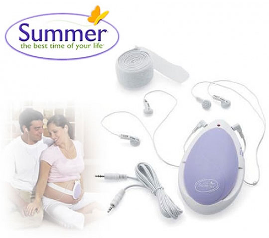 Summer Infant Pre Natal Heart Listening Monitor 163 6 78