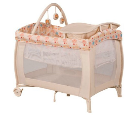 babystart deluxe travel cot for argos. Black Bedroom Furniture Sets. Home Design Ideas