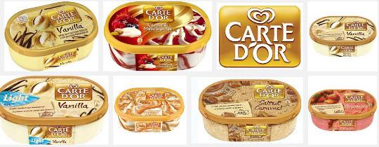 Carte D'Or Caramel Ice Cream Dessert 900ml