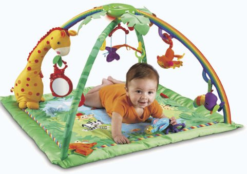 fisherPriceRainforestBabyGym