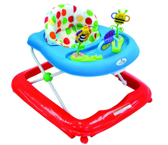 babylo bizzy bee baby walker in polka babies r us was. Black Bedroom Furniture Sets. Home Design Ideas
