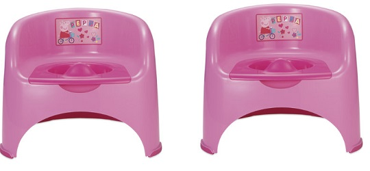 Peppa Pig Potty Chair 163 5 Mothercare