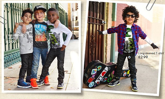 H&M Promotional Code: 20% & £5 Off Children's Clothing