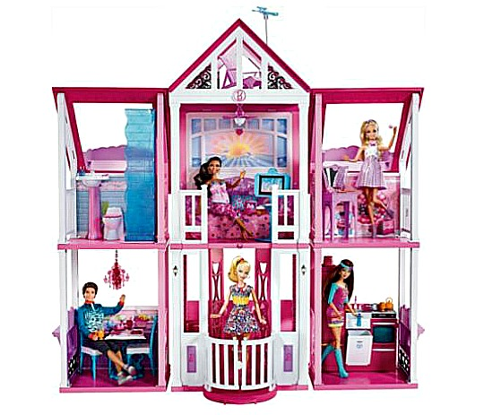 Barbie california dream house playset was for California dream house