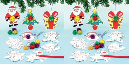make it yourself christmas decorations now 199 baker ross - Ross Christmas Decorations